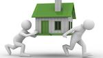 Dos muñecos se llevan una casa