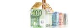Casa Construida Con Billete De Euro