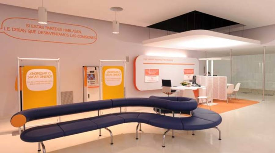 Interior De Una Oficina De Ing Direct