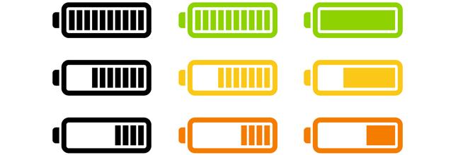 Iconos De Batería