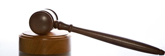 mazo de un juez