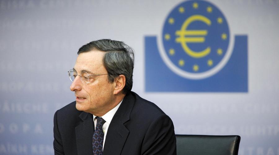 Kel Bce Foto Draghi