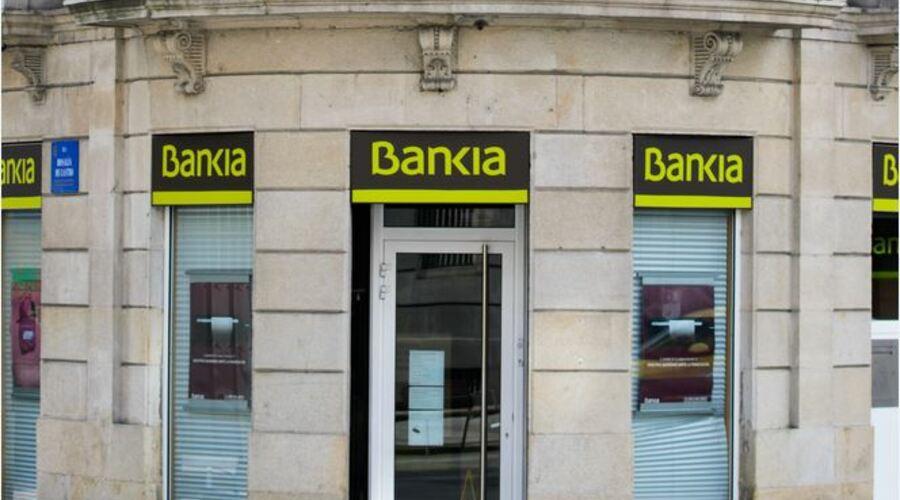Fachada Bankia