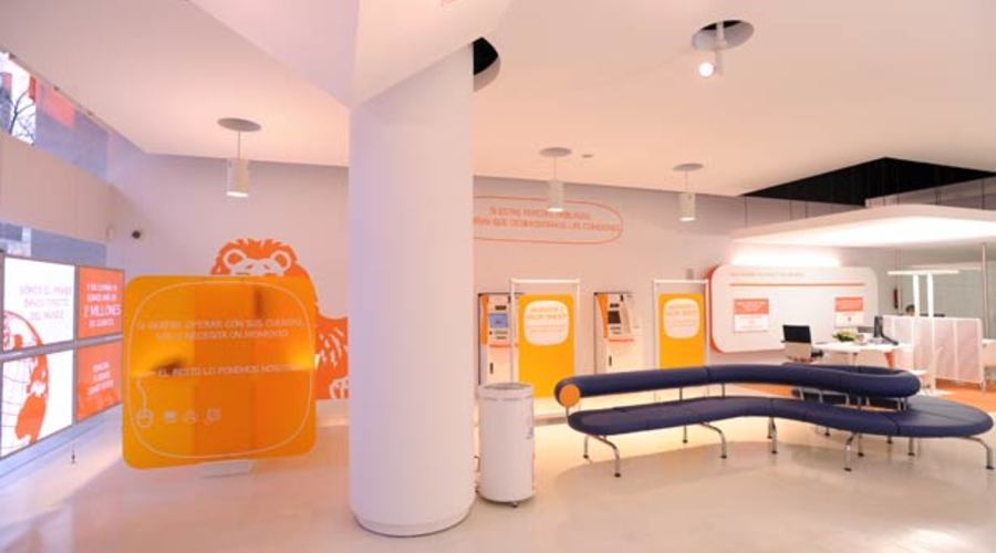 Interior Oficina Naranja Big
