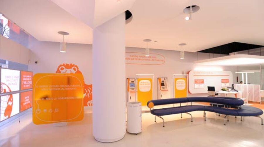Interior Oficina Naranja   Interior Oficina Naranja