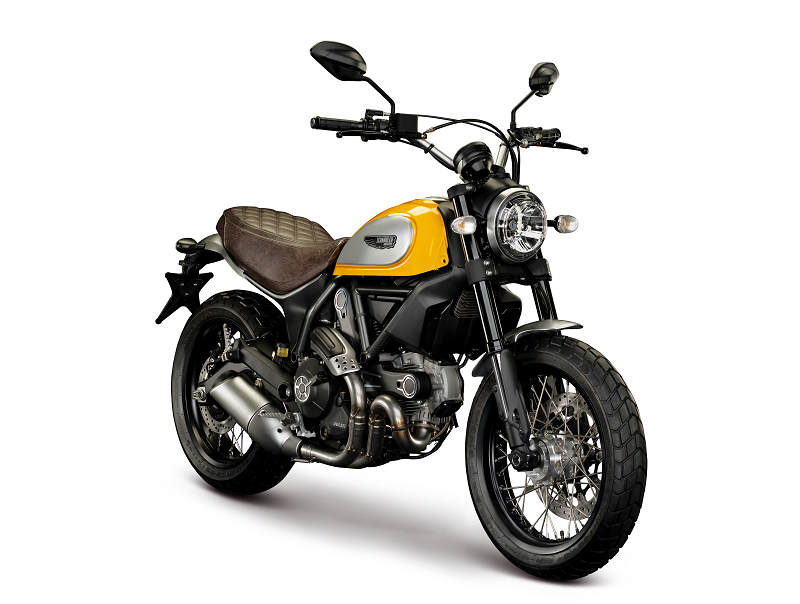 Seguro de moto Ducati Scrambler