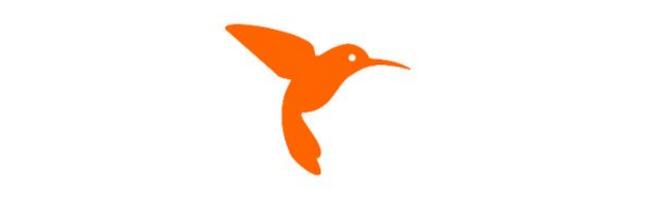 Orange Colibrí