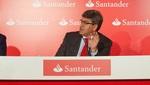 rueda de prensa del Banco Santander