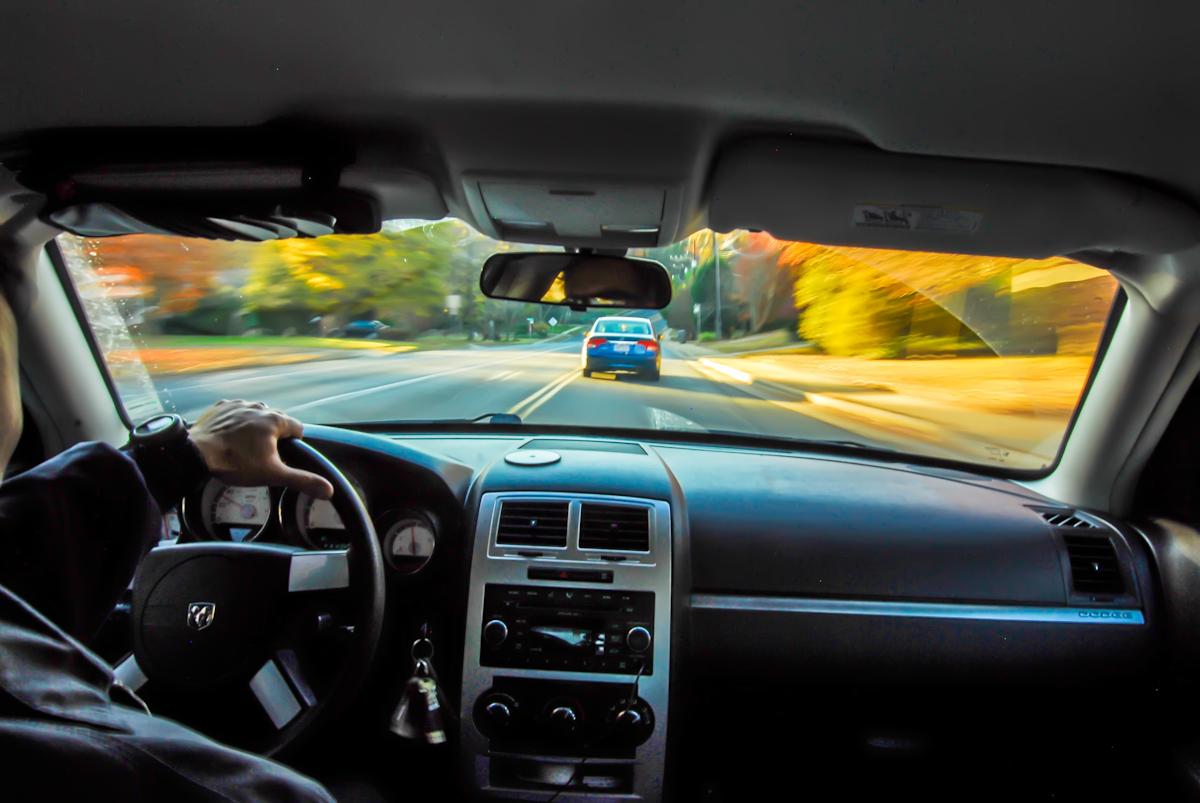 vehículo que circula con seguro de coche