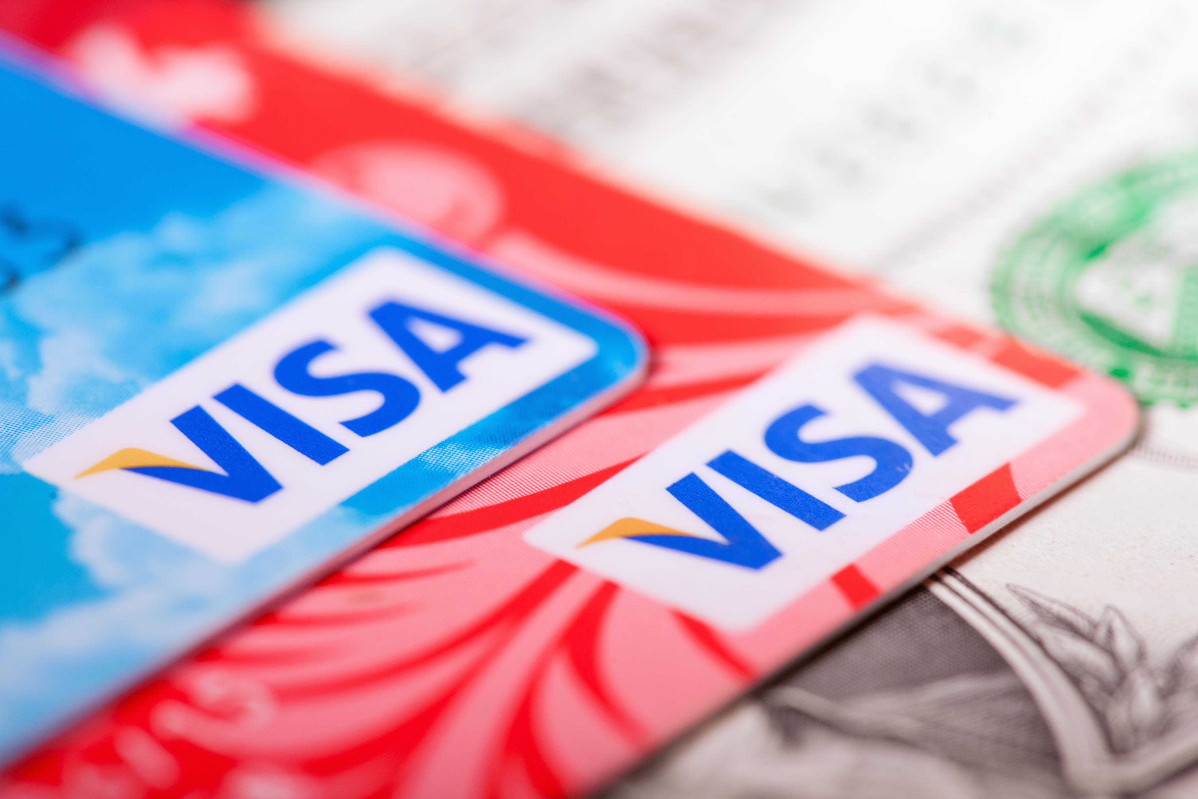 Tarjetas monedero Visa