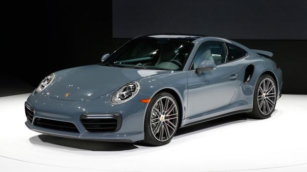 Los mejores coches de 2016- Porsche 911 Turbo
