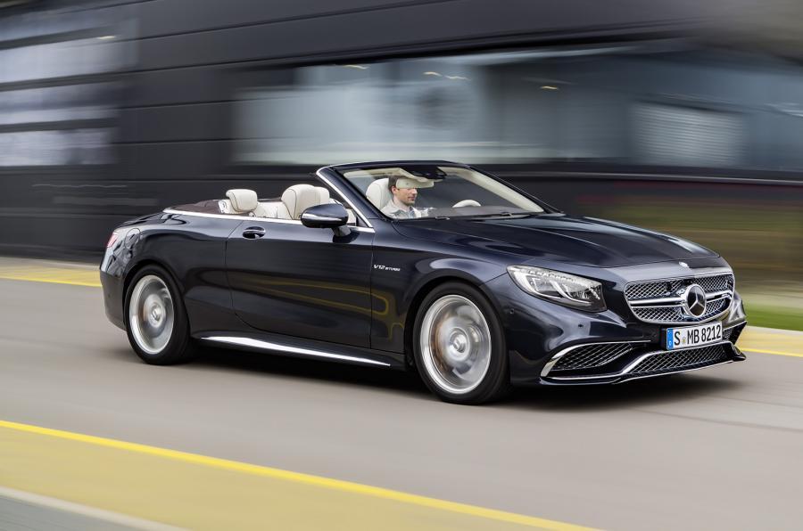 Los mejores coches de 2016-Mercedes AMG cabrio