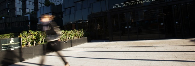 Sede de La Caixa en Barcelona