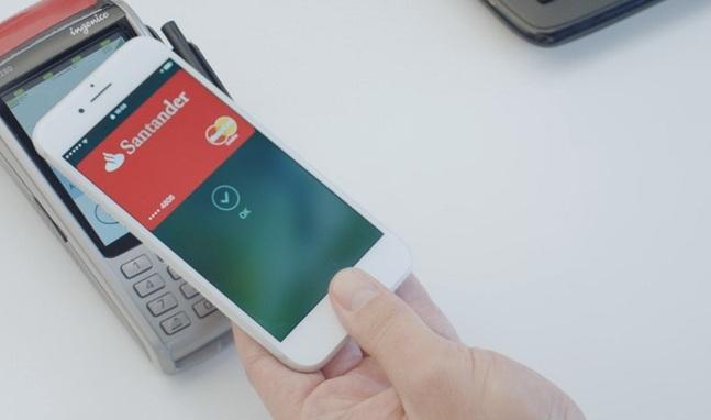 Apple Pay con Santander