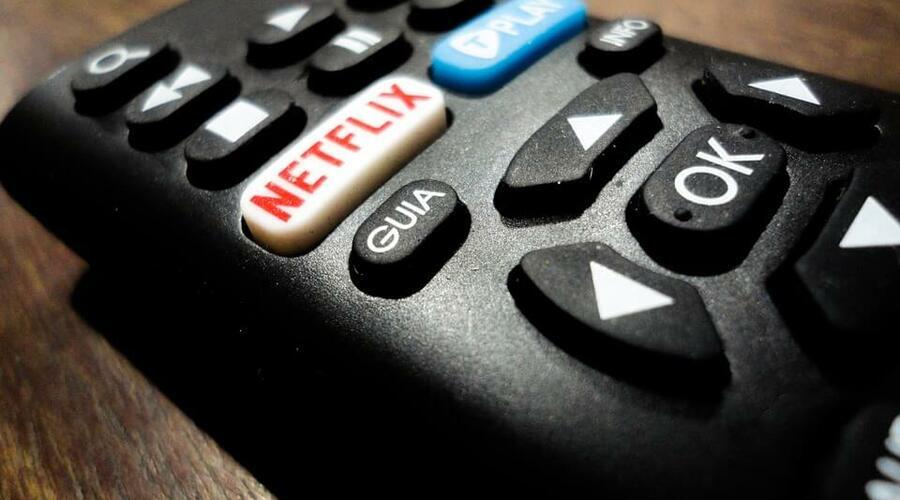 mando de tv netflix