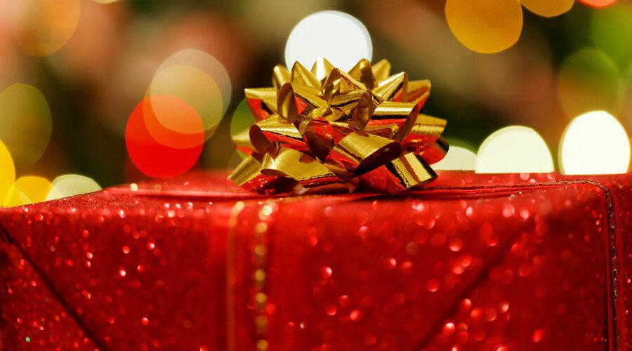 Cuentas con regalos en Navidad