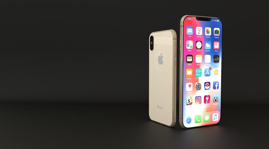 Los teléfonos iPhone XS y XS Max se encuentran uno al lado de otro para facilitar la comparación