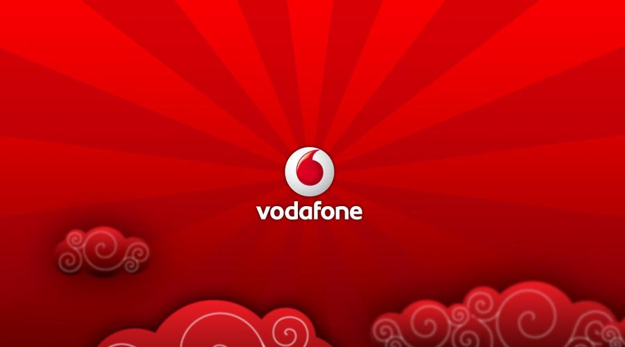 f0ad1fd9db1 El logotipo de la operadora de Vodafone