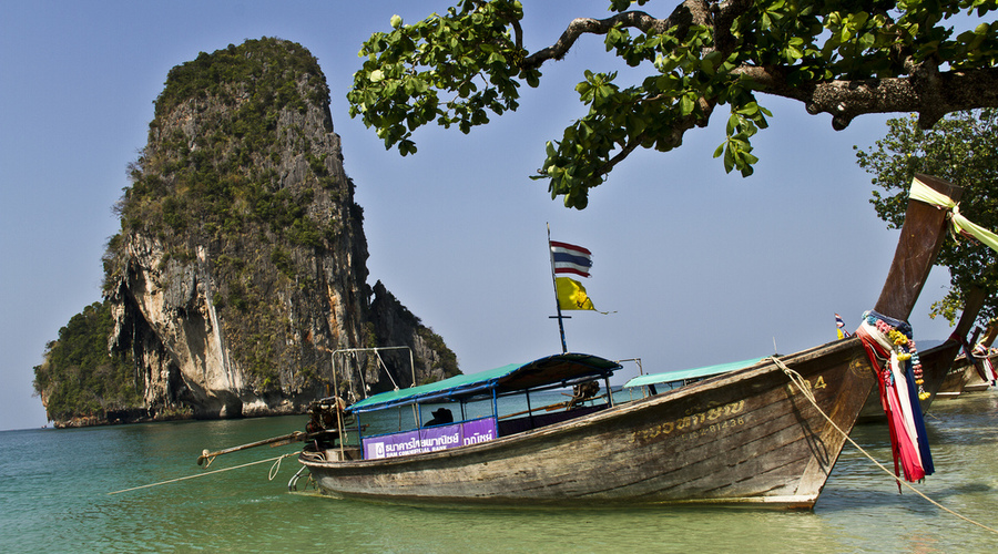 Una barca de Tailandia
